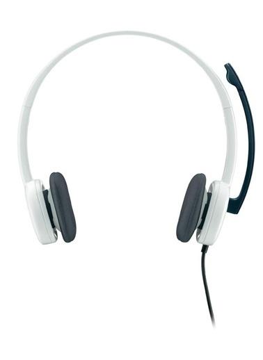 Logitech H150 Stereo Kulaklık Beyaz 981-000350 Renkli